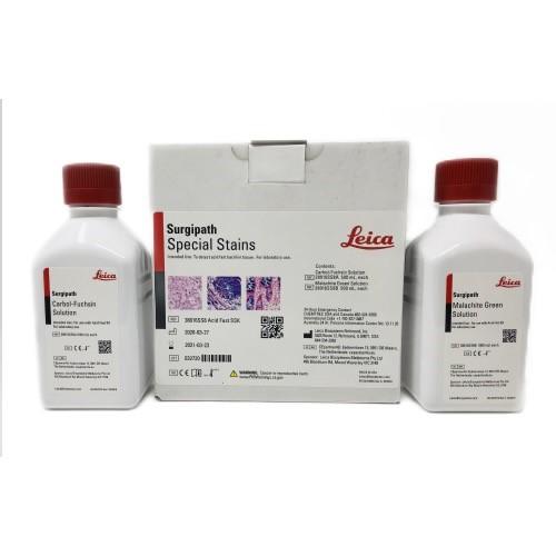Kit de corante especial para bacilo ácido-álcool resistente Foto do produto Back View L