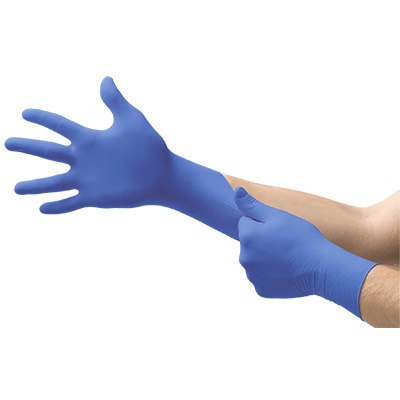 Powderless Nitrile Gloves product photo Front View S