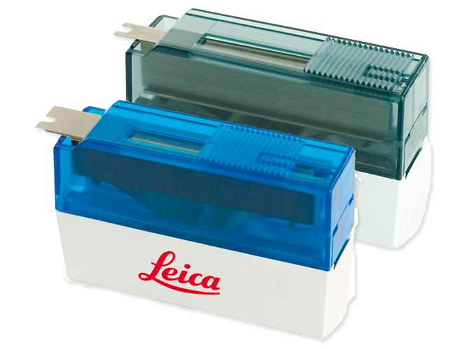 Lames jetables à bande étroite pour microtome / Lames à trois facettes pour microtome photo produit Front View S