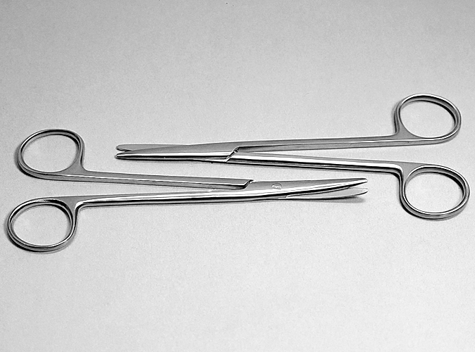 Metzenbaum Scissors product photo Front View S