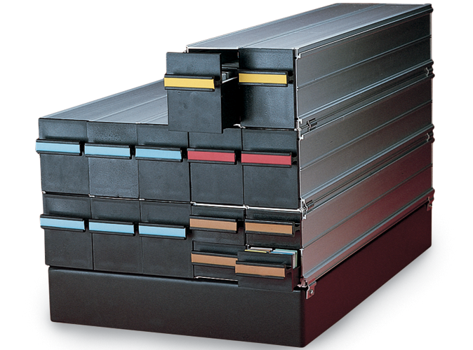 Modular Universal Filing System product photo Front View S