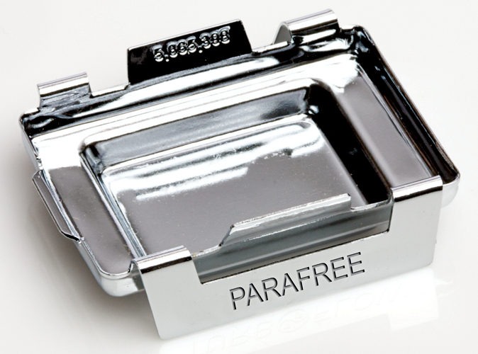Parafree Stainless Steel Base Mold product photo Front View L