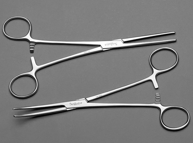 Rochester-Pean Hemostats product photo Front View S