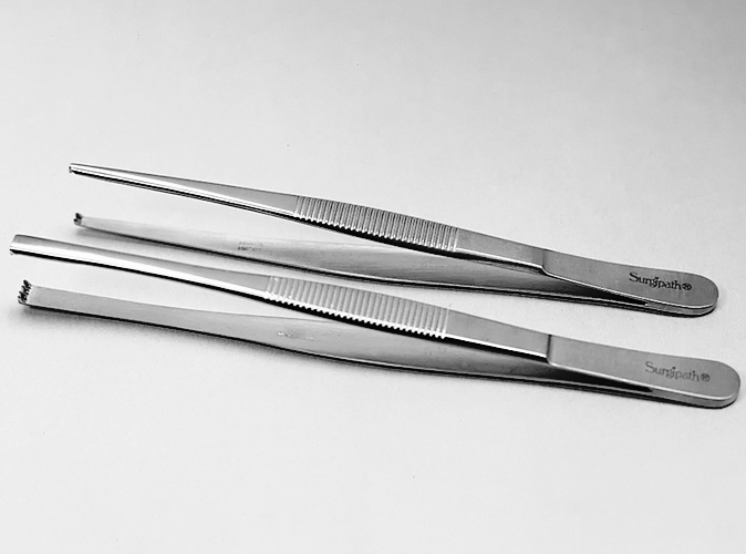 Tissue Forceps product photo Front View S